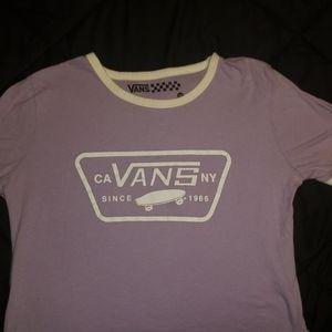 Lilac Van's tshirt